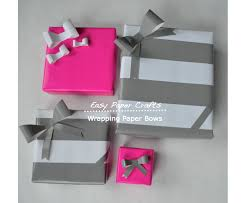 bow wrapping paper easy paper crafts wrapping paper bows they so loved events