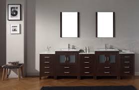 Bathroom Vanity Clearance by Virtu Usa Dior 109 Double Bathroom Vanity Set In Espresso