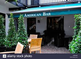 american bar at the stafford hotel london stock photo royalty