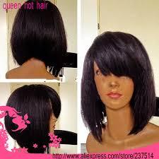 Short Bob Weave Hairstyles Large Stock 100 Brazilian Virgin Remy Hair 1 Color Short Bob