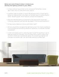 What Is Ambient Light Create A High Productivity U201cmood U201d In Your Office