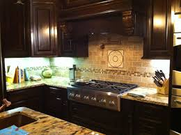 Picture Of Kitchen Backsplash 3x6 Noce Travertine Kitchen Backsplash The Stone Link Design