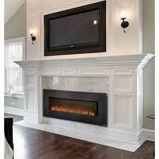 Indoor Electric Fireplace Slimline 72 Linear Electric Fireplace Fireolace Pinterest