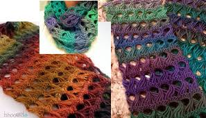 broomstick lace stunning lace scarf broomstick pattern crochet patterns and