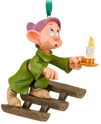 filmic light snow white archive dopey on stairs disney store