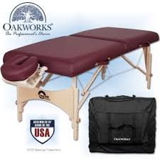 oakworks proluxe massage table oakworks one portable massage table package massagetablesnow com