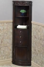Linen Cabinet For Bathroom Amazing Corner Linen Cabinet Bathroom Contemporary With None