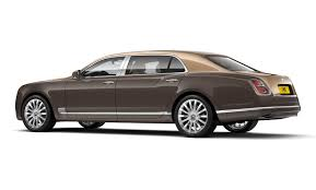 bentley price one of 50 bentley mulsanne first editions lands in china