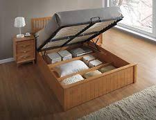 double ottoman bed ebay