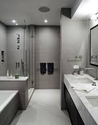 Black White Bathroom Tile How To Use Gray Around The House Without Making It Look Boring