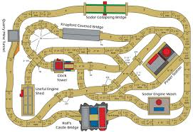 Wooden Train Table Plans Free by Thomas The Train Track Layouts Thomas Train Train Tracks And