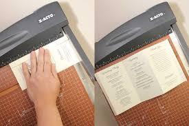 trifold wedding program paper diy tutorial free printable folded wedding program wedding
