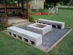 Firepit Base Pit Gravel Base 18 Best Lake House Pits Images