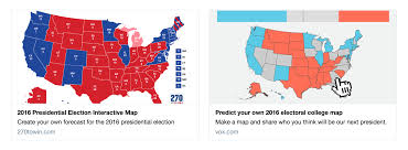 Election Predictions November 5 2016 by How We Built Vox U0027s Audience Driven Election Projects Vox Media