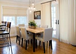 curtain ideas for dining room solid color dining room curtain ideas home decor