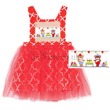 smocked birthday tutu dress nice red smocked birthday tutu dress