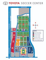 Portland Parking Map Parking Fc Dallas