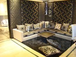 canapé marocain occasion photo de salon marocain moderne