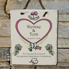 wedding plaques personalized personalized wall slate signs imallshoppe