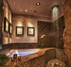 Rain Shower Bathroom by Bathrooms With Jacuzzi Designs Jacuzzi Tub And Rain Shower