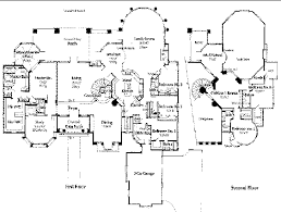 mansion floor plans free modern style modern luxury home floor plans plans and home designs