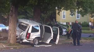 two peoria police vehicles collide peoria public radio