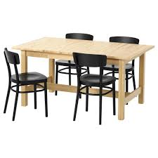 wood dining room tables and chairs dining room sets ikea