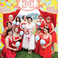 carnival weddings a whimsical outdoor wedding in montana themed weddings cotton