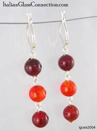 are leverback earrings for pierced ears 3 bead earrings with silver leverback for pierced ears igc
