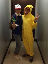 Pikachu Halloween Costume Kids 55 Genius Couples Costumes Halloween 2017 Pikachu Costume