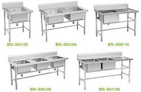 Stainless Steel Commercial Kitchens SteelKitchen - Commercial kitchen sinks stainless steel