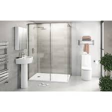 mode tate ensuite suite with enclosure and tray victoriaplum com free delivery tate bathroom suite with 8mm frameless walk in 1400 x 900