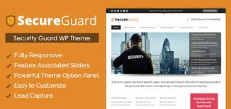 wordpress theme for security guards inkthemes