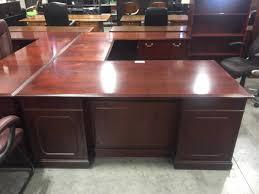 kimball president executive desk kimball executive u desk office barn