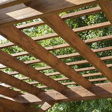amazon com backyard discovery cedar pergola 12 u0027 x 10 u0027 assembly