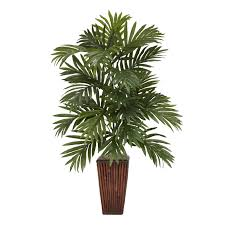 nearly natural 6675 areca palm permanent plant green the mine