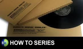 bu u0027s how to series folding a bu record mailer youtube
