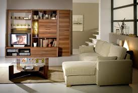 Cream Living Room by Living Room Living Room Storage As Book Case Design Macthed With