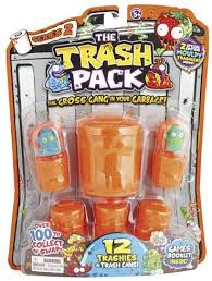 trash pack series 2 12 trashies blister pack price review