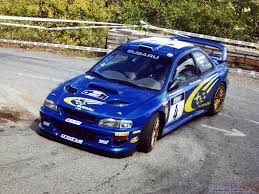 subaru sti rally car subaru impreza gc8 wrc97 s3 racing cars