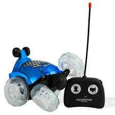 light up remote control car dimple dc13983bl blue rc remote controlled stunt car with 360