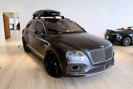 bentley bentayga silver 2017 bentley bentayga w12 signature stock 7nc015656 for sale