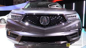 acura jeep 2005 2017 acura mdx exterior and interior walkaround debut at 2016