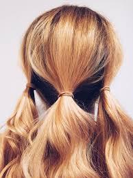 layer hair with ponytail at crown diy wedding hair easy diy updo hair tutorial hairspray ponytail