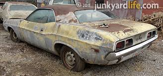 dodge challenger project junkyard cars cars barn finds rods and