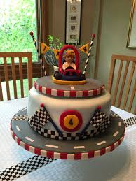 grave digger monster truck cake go kart racing theme birthday cake bday ideas pinterest kart