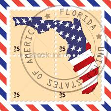 Florida Flag History Florida Stamp Vector Image 1552624 Stockunlimited