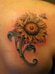 shoulder tattoos small small sunflower tattoo sunflower tattoos designs ideas and