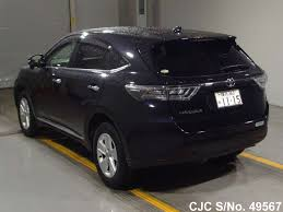 harrier lexus new model 2014 toyota harrier black for sale stock no 49567 japanese