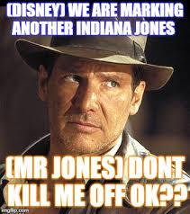 Side Eye Meme - indiana jones side eye memes imgflip